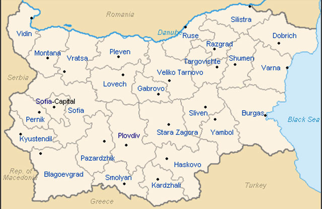 administrative-map-of-Bulgaria 2